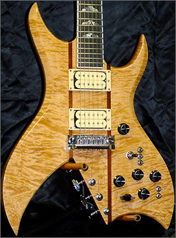 BC Rich Bich 10 string guitar