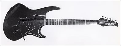 Hamer Phantom Guitar