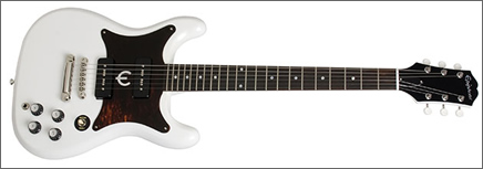 Epihone Wilshire Reissue in white