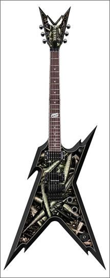 Dean Dimebag Darrell Razorback Guitar