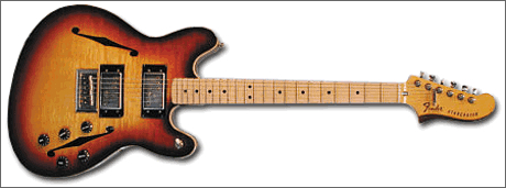 Fender Starcaster guitar