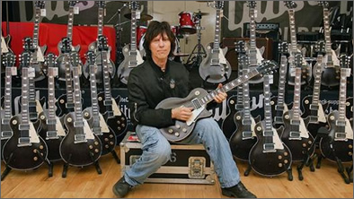 Gibson Jeff Beck Les Paul Oxblood