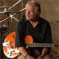 Randy Bachman with a Gretsch Guitar