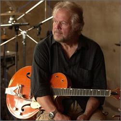 Randy Bachman with a Gretsch Guitar