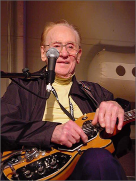 Les Paul dies, aged 94
