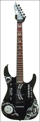 ESP Kirk Hammett series Ouija guitar