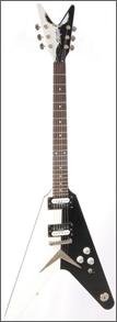 Dean Michael Schenker Custom V Guitar