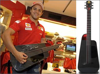 Blackbird Rider Ferrari Guitar
