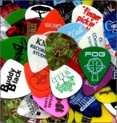 the strange world of guitar pick collecting guitar collecting. Black Bedroom Furniture Sets. Home Design Ideas