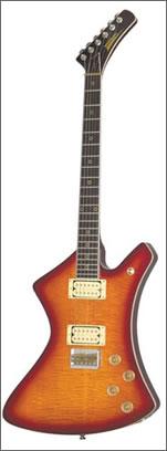 Washburn A20 - Vintage Washburn A 20V Stage Series Sunburst Flame Top Guitar W/Original Case